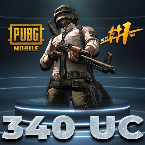 340 PUBG Mobile UC Unknown Cash