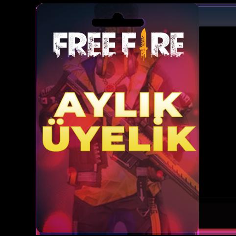 Free Fire Aylık Üyelik - Monthly Membership